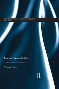 Cover Nuclear Waste Politics