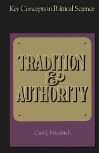 Cover Tradition and Authority