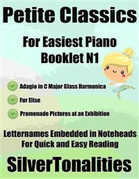 Cover Petite Classics for Easiest Piano Booklet N1