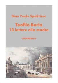 Cover Teofilo Barla 13 lettere alla madre-commento