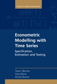 Cover Econometric Modelling with Time Series