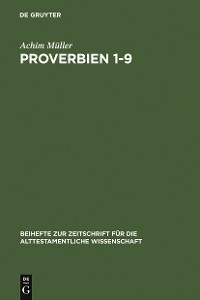Cover Proverbien 1-9