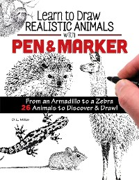 Cover Learn to Draw Realistic Animals with Pen & Marker