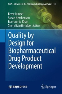 Cover Quality by Design for Biopharmaceutical Drug Product Development