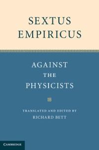 Cover Sextus Empiricus