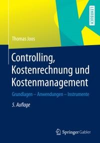 Cover Controlling, Kostenrechnung und Kostenmanagement