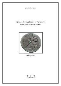 Cover Messana Civitas libera et foederata