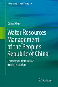 Cover Water Resources Management of the People's Republic of China