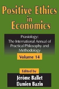 Cover Positive Ethics in Economics