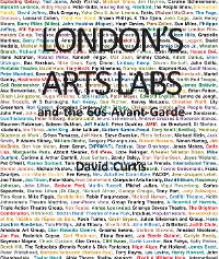 Cover London's Arts Labs and the 60s Avant-Garde