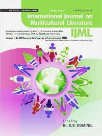 Cover International Journal on Multicultural Literature (IJML)