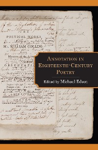 Cover Annotation in Eighteenth-Century Poetry