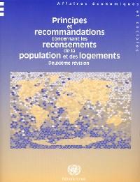 Cover Principes et Recommandations Concernant les Recensements de la Population et des Logements - Deuxième Révision