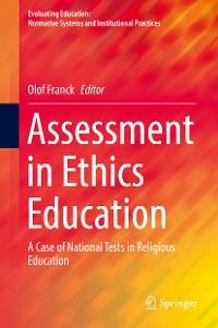 Cover Assessment in Ethics Education