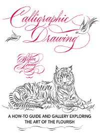 Cover Calligraphic Drawing