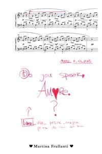 Cover Do you speak Amore?