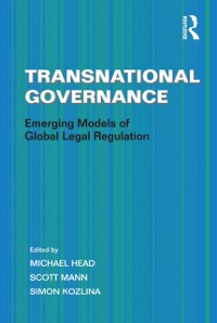 Cover Transnational Governance