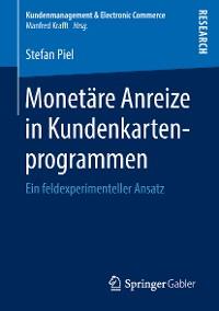 Cover Monetäre Anreize in Kundenkartenprogrammen
