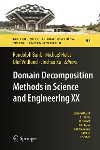 Cover Domain Decomposition Methods in Science and Engineering XX