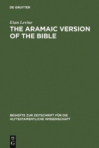 Cover The Aramaic Version of the Bible