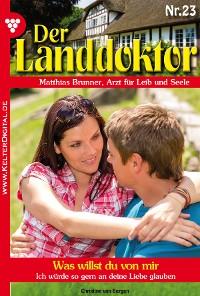 Cover Der Landdoktor 23 – Arztroman