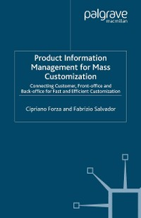 Cover Product Information Management for Mass Customization
