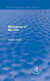 Cover Memories of My Life