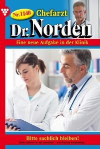 Cover Chefarzt Dr. Norden 1140 – Arztroman