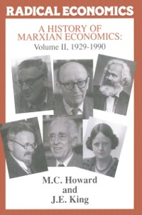 Cover History of Marxian Economics