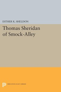 Cover Thomas Sheridan of Smock-Alley