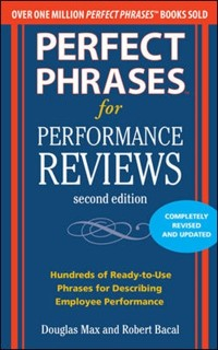 Cover Perfect Phrases for Performance Reviews 2/E