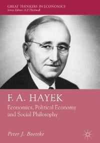 Cover F. A. Hayek