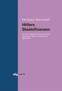 Cover Hitlers Staatsfinanzen