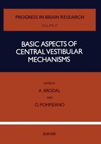Cover Basic Aspects of Central Vestibular Mechanisms
