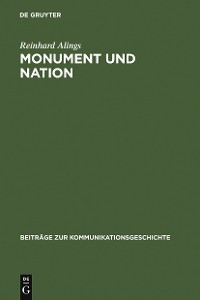 Cover Monument und Nation