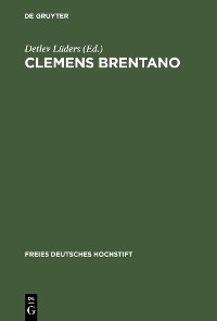 Cover Clemens Brentano