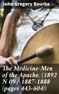 Cover The Medicine-Men of the Apache. (1892 N 09 / 1887-1888 (pages 443-604))