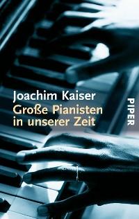 Cover Große Pianisten in unserer Zeit