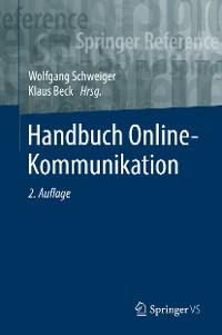 Cover Handbuch Online-Kommunikation