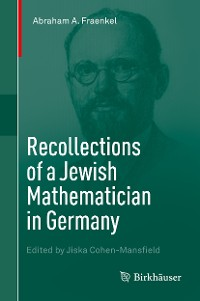 Cover Recollections of a Jewish Mathematician in Germany