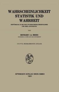 Cover Wahrscheinlichkeit Statistik und Wahrheit