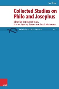 Cover Collected Studies on Philo and Josephus