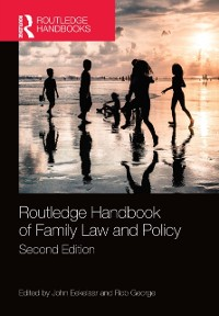 Cover Routledge Handbook of Family Law and Policy