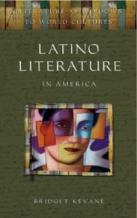 Cover Latino Literature in America