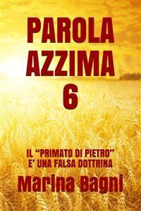 Cover Parola Azzima 6