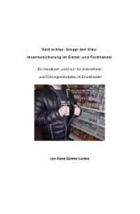 Cover Seid schlau- Stoppt den Klau- Inventursicherung im Einzel- und Fachhandel