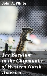 Cover The Baculum in the Chipmunks of Western North America