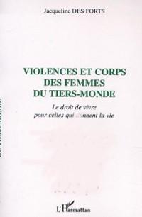 Cover Violences et corps des femmes du tiers-monde