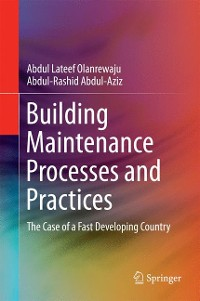 Cover Building Maintenance Processes and Practices