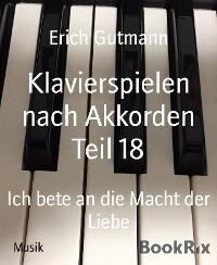 Cover Klavierspielen nach Akkorden Teil 18